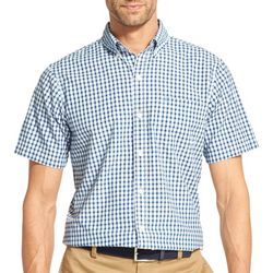 IZOD Mens Shepard Check Button Down Shirt