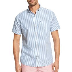 IZOD Mens Breeze Striped Button Down Shirt