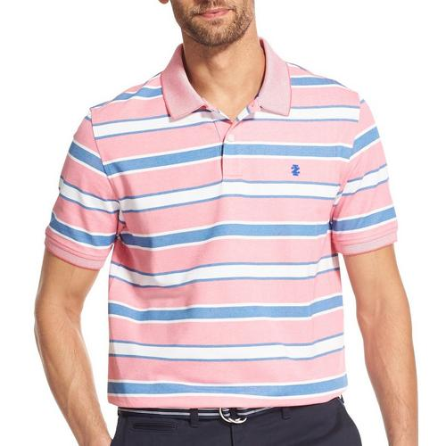 382cef48db IZOD Mens Advantage Stripe Short Sleeve Polo Shirt | Bealls Florida
