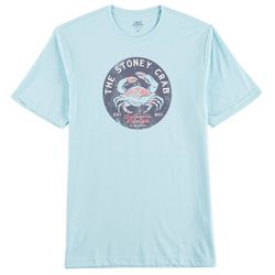 IZOD Mens Saltwater Stoney Crab T-Shirt