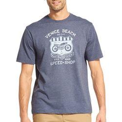 IZOD Mens Saltwater Venice Beach T-Shirt