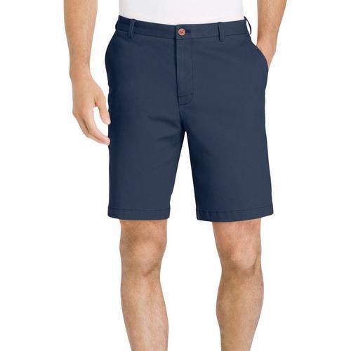 da97f9e7ef8e IZOD Mens Saltwater Stretch Chino Shorts