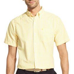 IZOD Mens Shepard Check Button Down Shirt