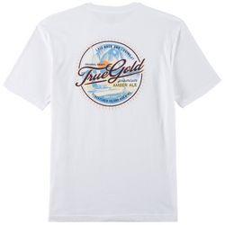 IZOD Mens Saltwater True Gold T-Shirt