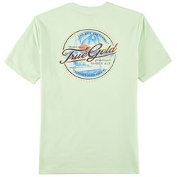 IZOD Mens Saltwater True Gold T-Shirt