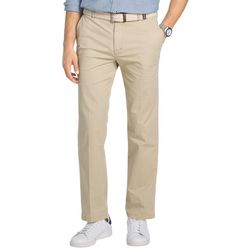 IZOD Mens Flat Front Saltwater Chino Pants