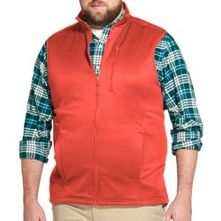 IZOD Mens Big & Tall Advantage Performance Fleece Vest