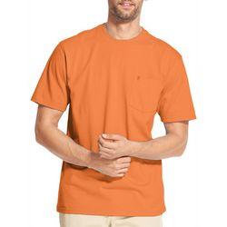 IZOD Mens Solid Pocket Short Sleeve T-Shirt