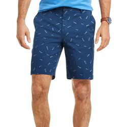IZOD Mens Bonefish Print Shorts