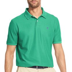 IZOD Mens Advantage Performance Short Sleeve Polo Shirt