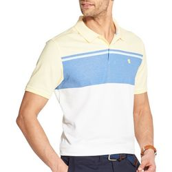 IZOD Mens Advantage Colorblocked Polo Shirt
