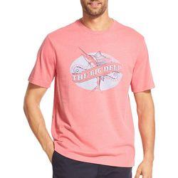 IZOD Mens Saltwater The Big Deep T-Shirt