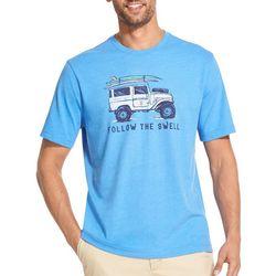 IZOD Mens Follow The Swell T-Shirt