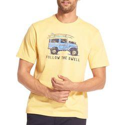 IZOD Mens Saltwater Follow The Swell T-Shirt