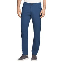 IZOD Mens Saltwater Stretch Chino Flat Front Pants