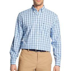 IZOD Mens Premium Essentials Stretch Tartan Button Up Shirt