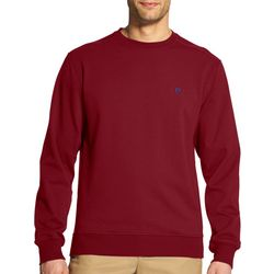 IZOD Mens Advantage Solid Pullover Sweatshirt