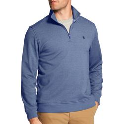 IZOD Mens Advantage Quarter Zip Pullover Sweatshirt