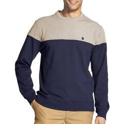 IZOD Mens Advantange Colorblock Pullover Sweatshirt