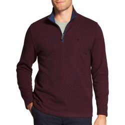 IZOD Mens Advantage Premium Quarter Zip Sweatshirt