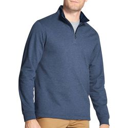 IZOD Mens Nauset Classic Fit Light Quarter Zip Sweater