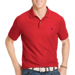 IZOD Mens Short Sleeve Pique Polo Shirt