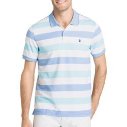 IZOD Mens SportFlex Stripe Stretch Polo Shirt