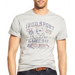 IZOD Mens Varsity Short Sleeve T-Shirt