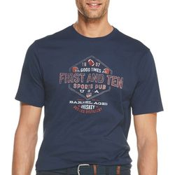 IZOD Mens Heritage Good Times Short Sleeve T-Shirt