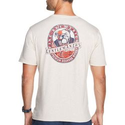IZOD Mens Heritage Bulldog Short Sleeve T-Shirt