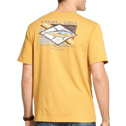 IZOD Mens Crest & Cove Short Sleeve T-Shirt