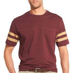 IZOD Mens Saltwater Football Short Sleeve T-Shirt