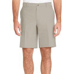 IZOD Mens Classic Fit Oxford Stretch Shorts