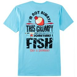 Grey & Disorderly Mens Grumpy Fish T-Shirt