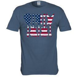 T-Shirt International Mens Guitar Flag T-Shirt