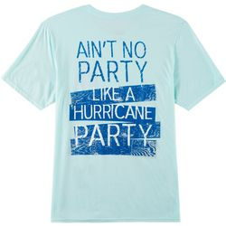 Florida Strong Mens Hurricane Party Graphic T-Shirt