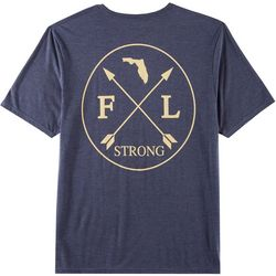 Florida Strong Mens FL Strong Graphic T-Shirt