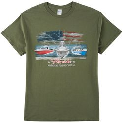 Authentic Classics Mens America's Fishing Captial T-Shirt
