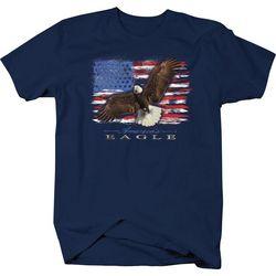Authentic Classics Mens Flying Eagle T-Shirt