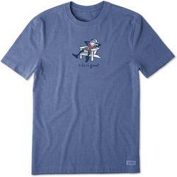 Life Is Good Mens Adirondack Jack Vintage Crusher T-Shirt