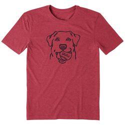 Life Is Good Mens Fetch Crusher T-Shirt