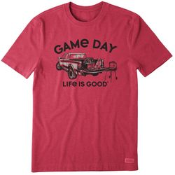 Life Is Good Mens Game Day Crusher T-Shirt