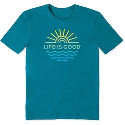 Life Is Good Mens Sun & Sea Cool T-Shirt