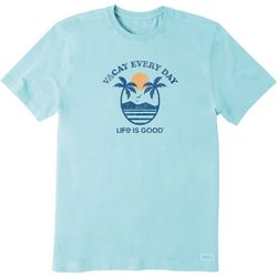 Life Is Good Mens Vacay Every Day Crusher T-Shirt