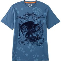 Elvis Presley Eagle Star Short Sleeve T-Shirt