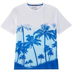 Elvis Presley Blue Hawaii Palms Short Sleeve T-Shirt