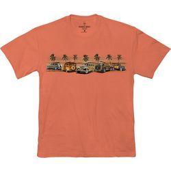 Paradise Shores Mens Woody Sunset Beach T-Shirt