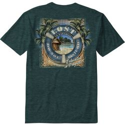 Paradise Shores Mens Life Preserver T-Shirt