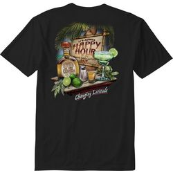 Paradise Shores Mens It's Always Happy Hour T-Shirt
