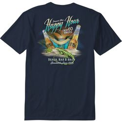 Paradise Shores Mens Lizard Lounge T-Shirt